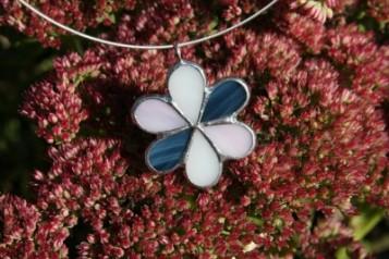 Kytička a čtyřlístek - Tiffany šperky