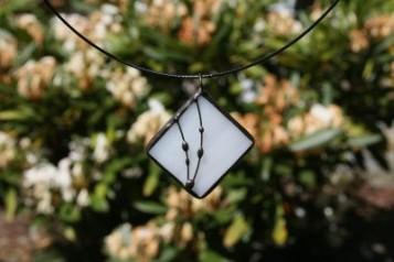 Náhrdelníky čtverec - Tiffany šperky
