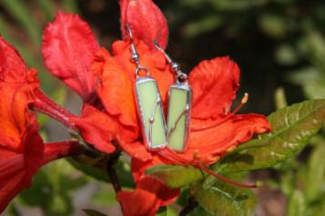 Náušnice podlouhlé - Tiffany šperky