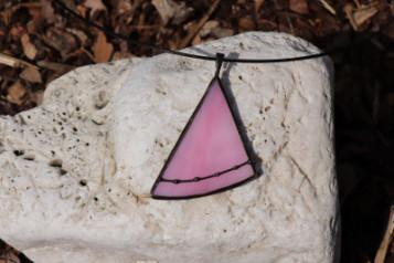 Náhrdelníky trojúhelníček - Tiffany šperky
