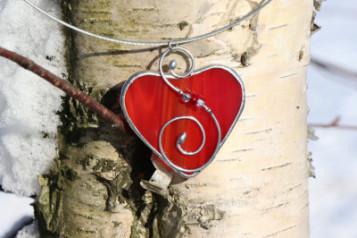 Náhrdelníky srdce - Tiffany šperky