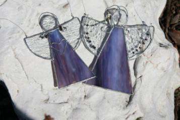 Andílci hranatí - Tiffany šperky