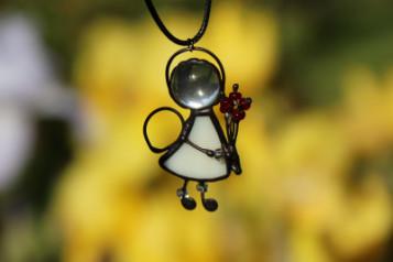 Andílci - šperk na krk - Tiffany šperky