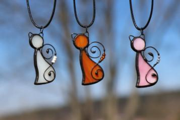 Kočky pro kočky - Tiffany šperky