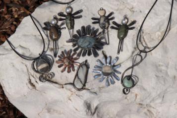 Cínované šperky - Tiffany šperky