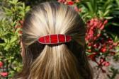 Spona malá červená - Tiffany šperky