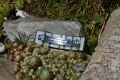 Spona bílo - černá rovná - Tiffany šperky