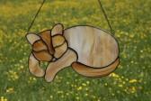 Kočka Míca - Tiffany šperky