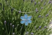 Kytička modrá - Tiffany šperky