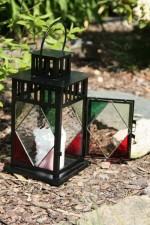 Lucerna barevná - Tiffany šperky