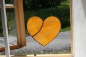 Srdce medové - Tiffany šperky