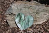 Srdce zelené - Tiffany šperky