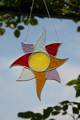 Slunce barevné - Tiffany šperky