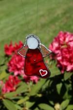 Andílek srdíčkový - Tiffany šperky