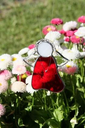 Anděl červený - Tiffany šperky