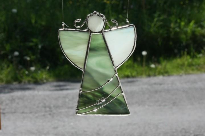 Andělka zelená - Tiffany šperky
