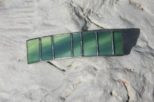 Spona zelená - Tiffany šperky