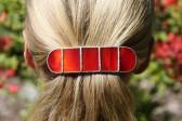 Spona červená - Tiffany šperky