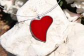 Srdíčko z lásky - Tiffany šperky
