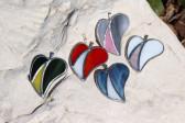 Srdíčko dvou barev - Tiffany šperky