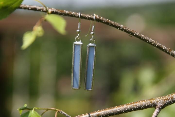 Náušnice z nebe dlouhé - Tiffany šperky