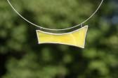 Náhrdelník sluníčkově žlutý - Tiffany šperky