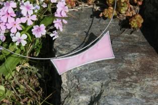 Náhrdelník růžový - Tiffany šperky