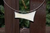 Náhrdelník béžový - Tiffany šperky