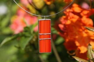 Červenooranžový šperk - Tiffany šperky