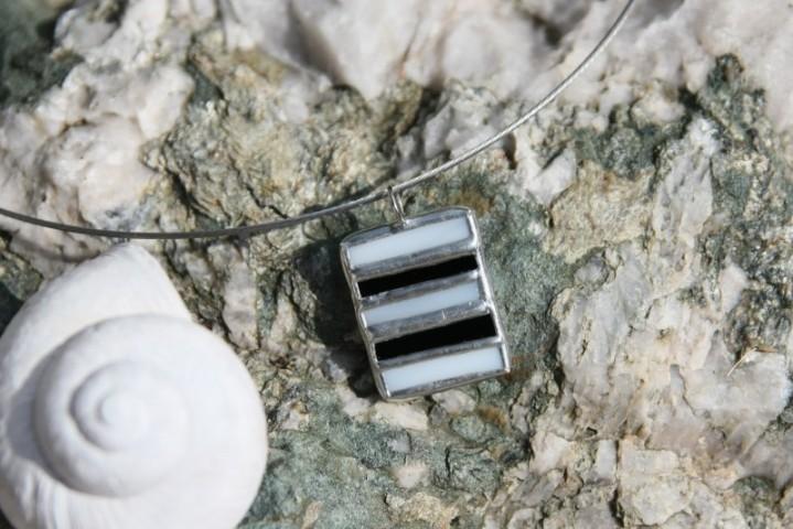 Černo-bílý šperk - Tiffany šperky