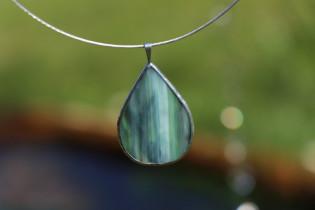 Šperk - kapka z vody - Tiffany šperky