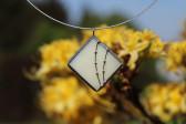 Šperk s ozdobou béžový - Tiffany šperky