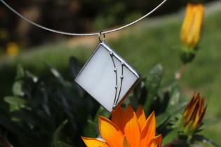 Šperk paní Zimy - Tiffany šperky
