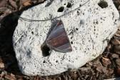 Kouřový trojúhelníček - Tiffany šperky