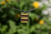 Červeno-žlutý šperk - Tiffany šperky