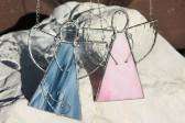 Andělka růžová - Tiffany šperky
