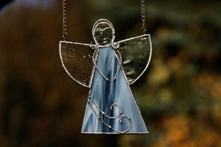 Anděl mořských vln - Tiffany šperky