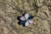 Kytička trojbarevná - Tiffany šperky