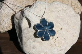 Kytička z barvy moře - Tiffany šperky
