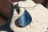 Šperk - kapka z mořských vln - Tiffany šperky