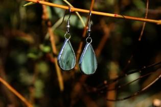 Náušnice od vodníka - Tiffany šperky