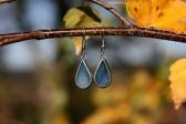 Náušnice z moře - Tiffany šperky
