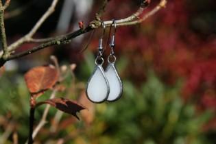 Náušnice sněhové kapky - Tiffany šperky