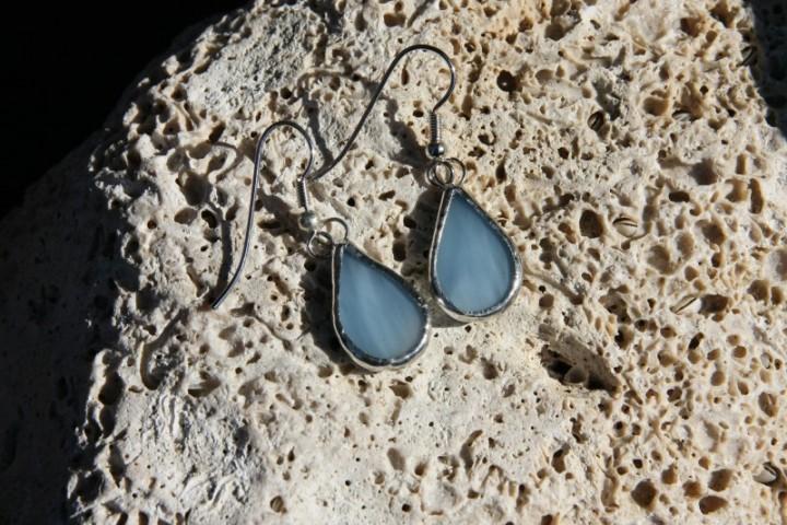 Náušnice kapky z nebe - Tiffany šperky
