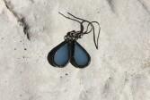 Náušnice z nebe patinované - Tiffany šperky