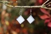 Náušnice paní Zimy - Tiffany šperky