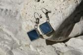 Náušnice barvy moře - Tiffany šperky