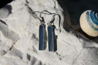 Náušnice z moře dlouhé - Tiffany šperky