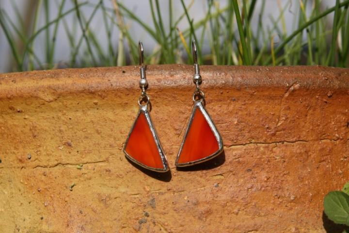 Náušnice pekelné - Tiffany šperky