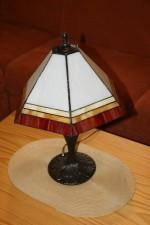 Tiffany lampa čtyřbarevná - Tiffany šperky
